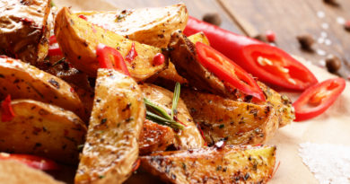 Запечённый картофель по-турецки