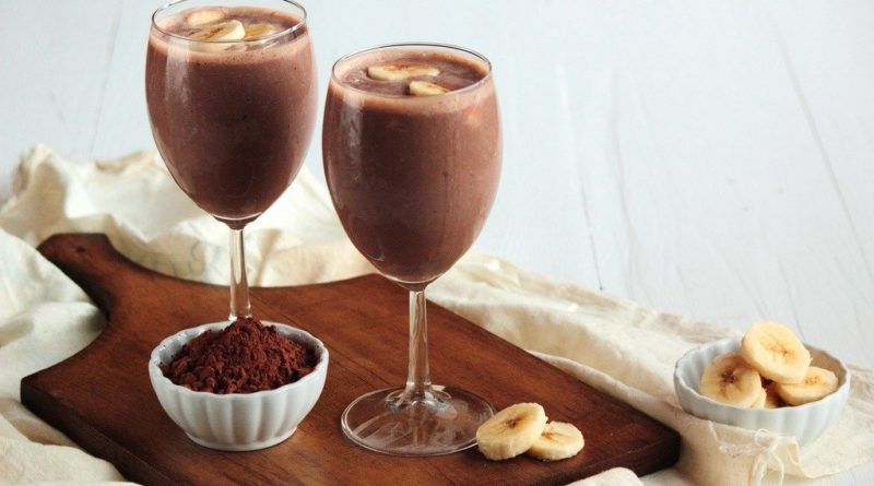 Бананово-шоколадный коктейль — обалденно вкусно!
