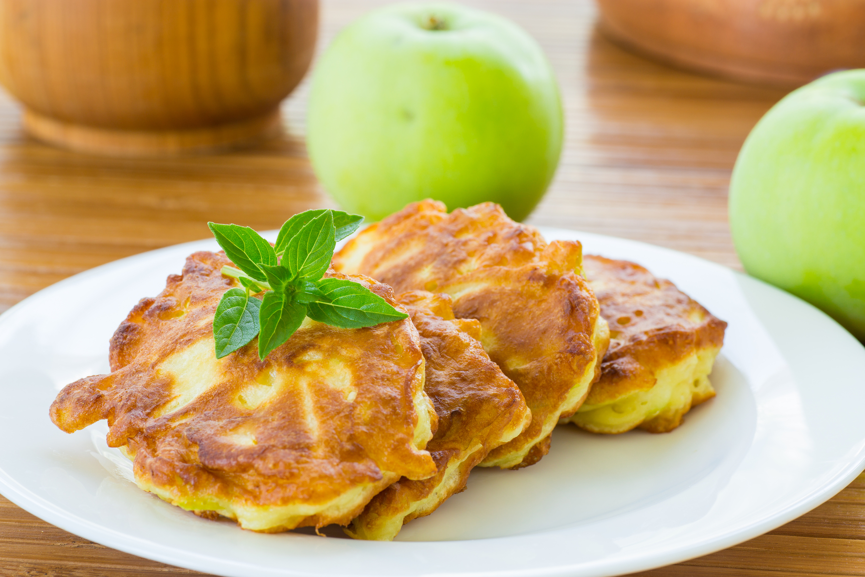 Оладьи из яблок рецепт пошагово