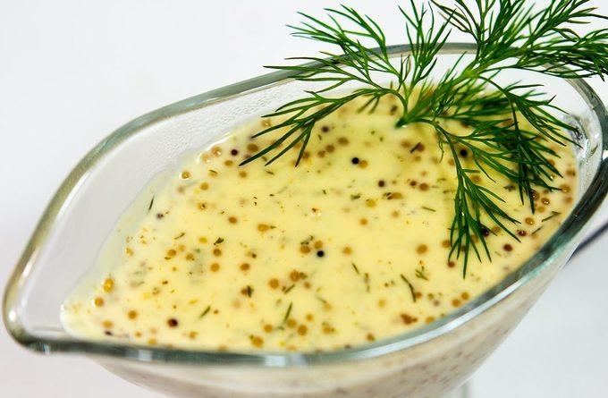 Пряно-сладкая баварская горчица (на пиве)