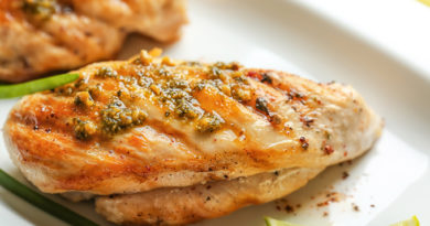 Ужин на скорую руку: курица, запеченная с чесноком