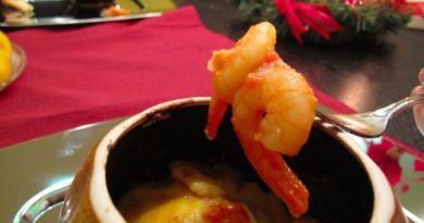 Креветки в пикантном соусе