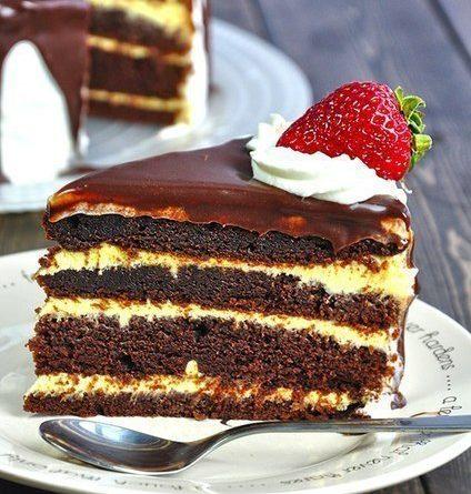 """Шоколадный торт """"Соблазн"""""""