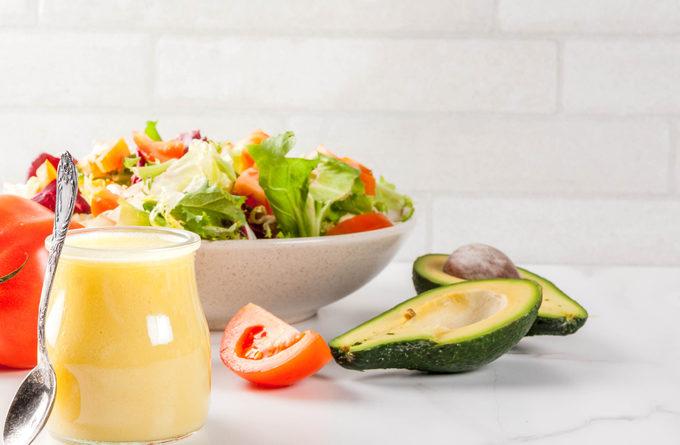 Заправка для винегрета и овощных салатов