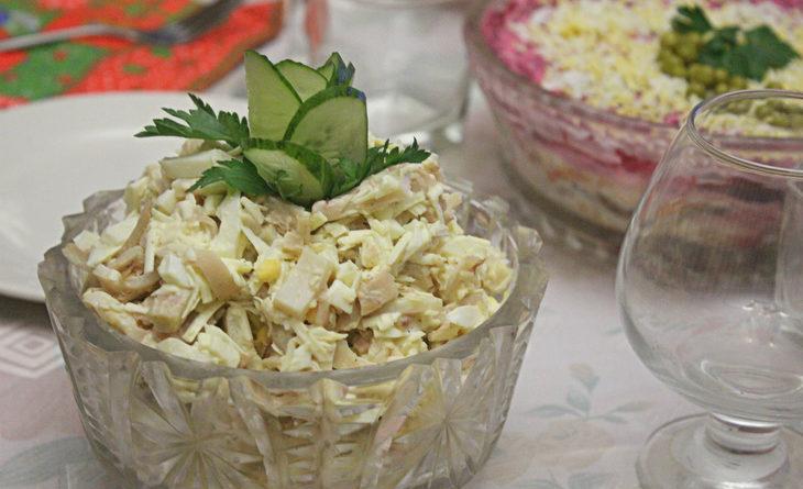 Салат «Белый танец»- новый рецепт