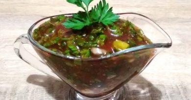 Необычайно ароматный и вкусный соус для шашлыка!