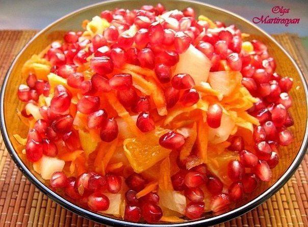 Фруктовый салат «Фифа» — специально для милых дам, которые просто обожают вкусняшки!