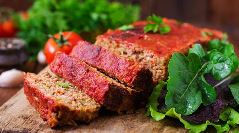Митлоф: мясной хлеб с овощами по-американски