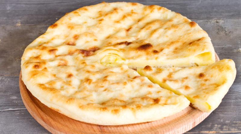Осетинский пирог с картофелем и сыром - Картофджин