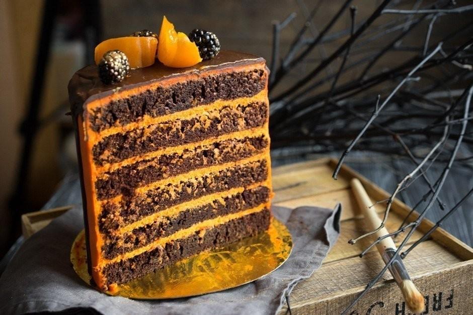 Торт «Тёмный Ларри».