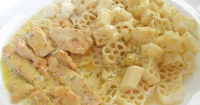 Вкусный ужин или курочка в топленом молоке