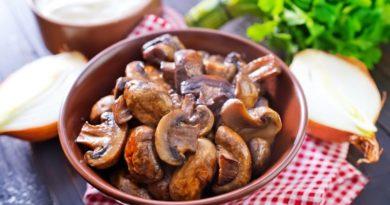 Вкусный способ пожарить грибы