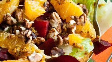 Марокканский салат со свеклой