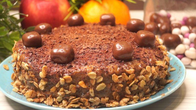 Роскошный торт за 5 минут. Безумно вкусный!