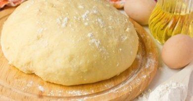 Тесто для пирогов, пирожков, пиццы