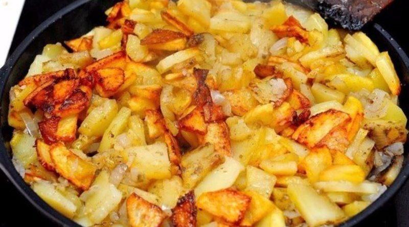 6 правил жарки картофеля
