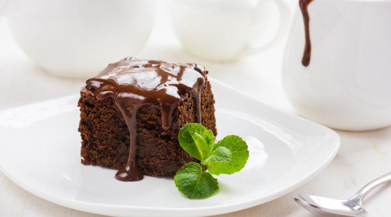 Домашний шоколадный брауни