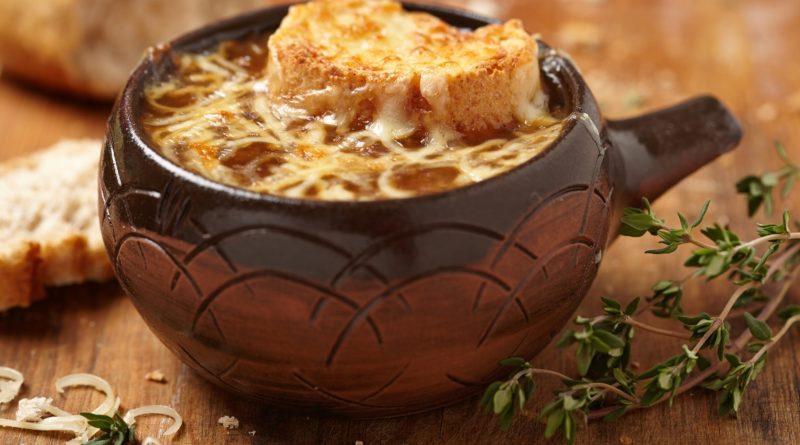 Французский луковый суп