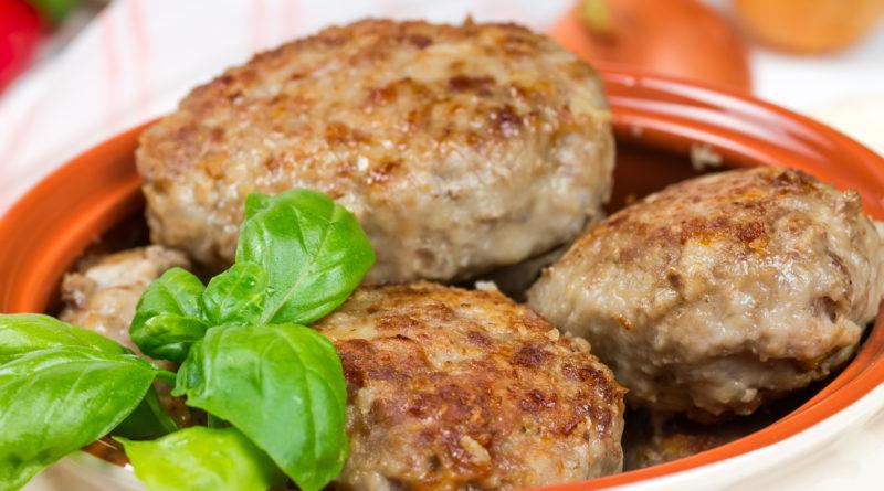 Аппетитные котлеты из свинины