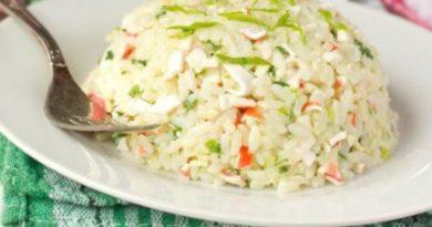 Крабовый рис
