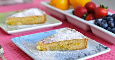 Лимонный пирог.