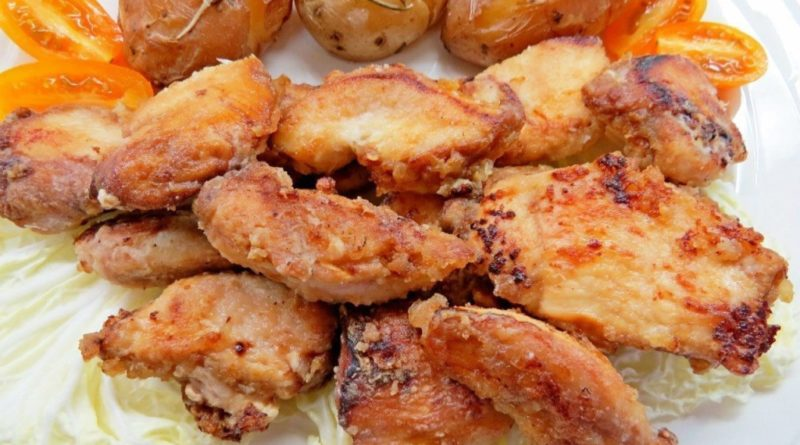 Хрустящая курица в пряном маринаде