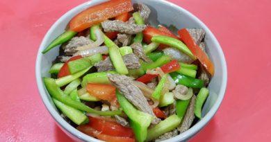 Огурчики по-китайски с мясом