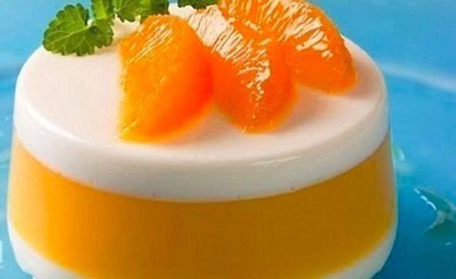 Десерт апельсиновый - очень легкий!