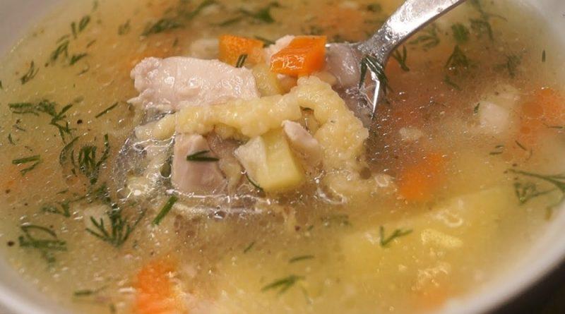 «Крестьянская затирка» - суп который, обрадует всю семью!