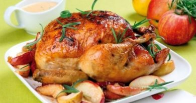 Фаршированная курица «Нежная пани»
