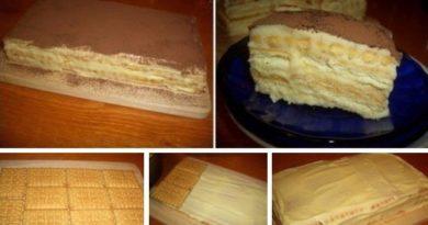 Торт а-ля Тирамиссу