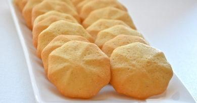 Бисквитное печенье для малышей