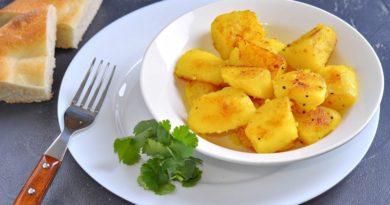 Картофель с куркумой (Bombay potatoes)
