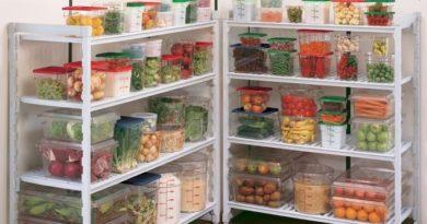 В какой посуде хранить продукты?