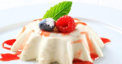 Французское бланманже: классический рецепт