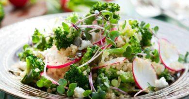 Топ-5 постных весенних салатов