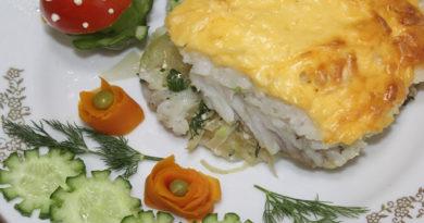 Советуем приготовить на ужин: карп, запеченный с сыром