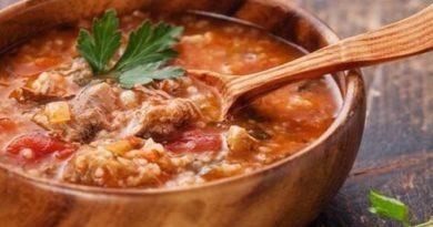 Суп из помидоров по-грузински