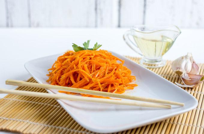 Морковь по-корейски: пошаговый рецепт