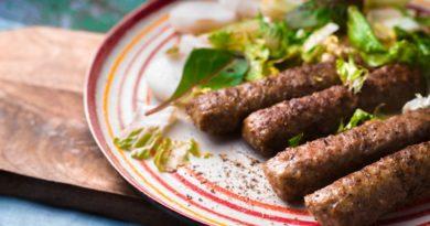 Аппетитные чевапчичи из говядины