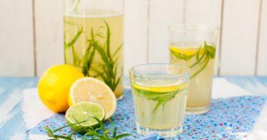 Домашний лимонад с тархуном