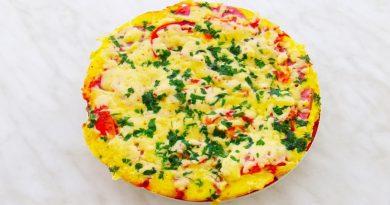 Ну очень быстрая пицца на сковороде за 10 минут