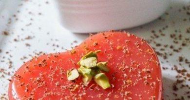 Сицилийский десерт - пуддинг из арбуза