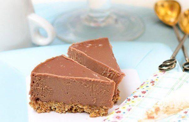 Шоколадный торт с кремом (без духовки)
