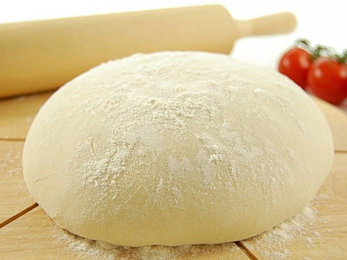 Кефирное тесто с сыром