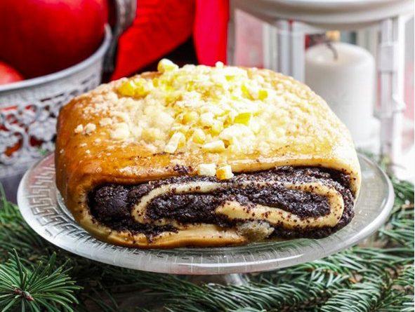 Катлама – татарский пирог с маком