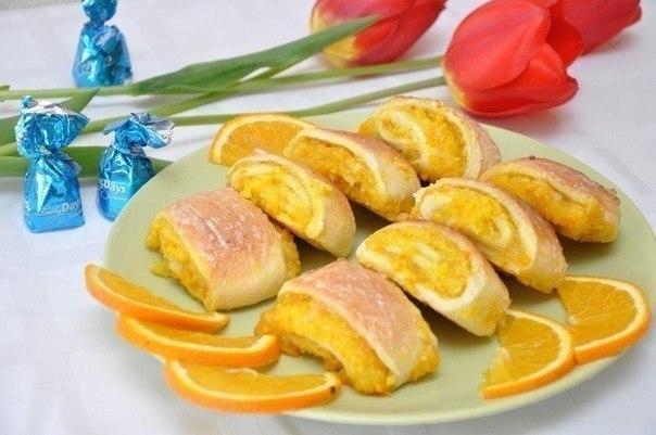 Мягкие апельсиновые Печенья: Детский восторг