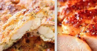 Диетическая меню: Рецепты из курицы, если надоело есть вареную грудку!