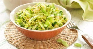5 рецептов вкусных и полезных салатов