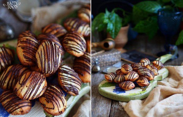 На повестке дня очень вкусные мадленки с базиликом и шоколадом!